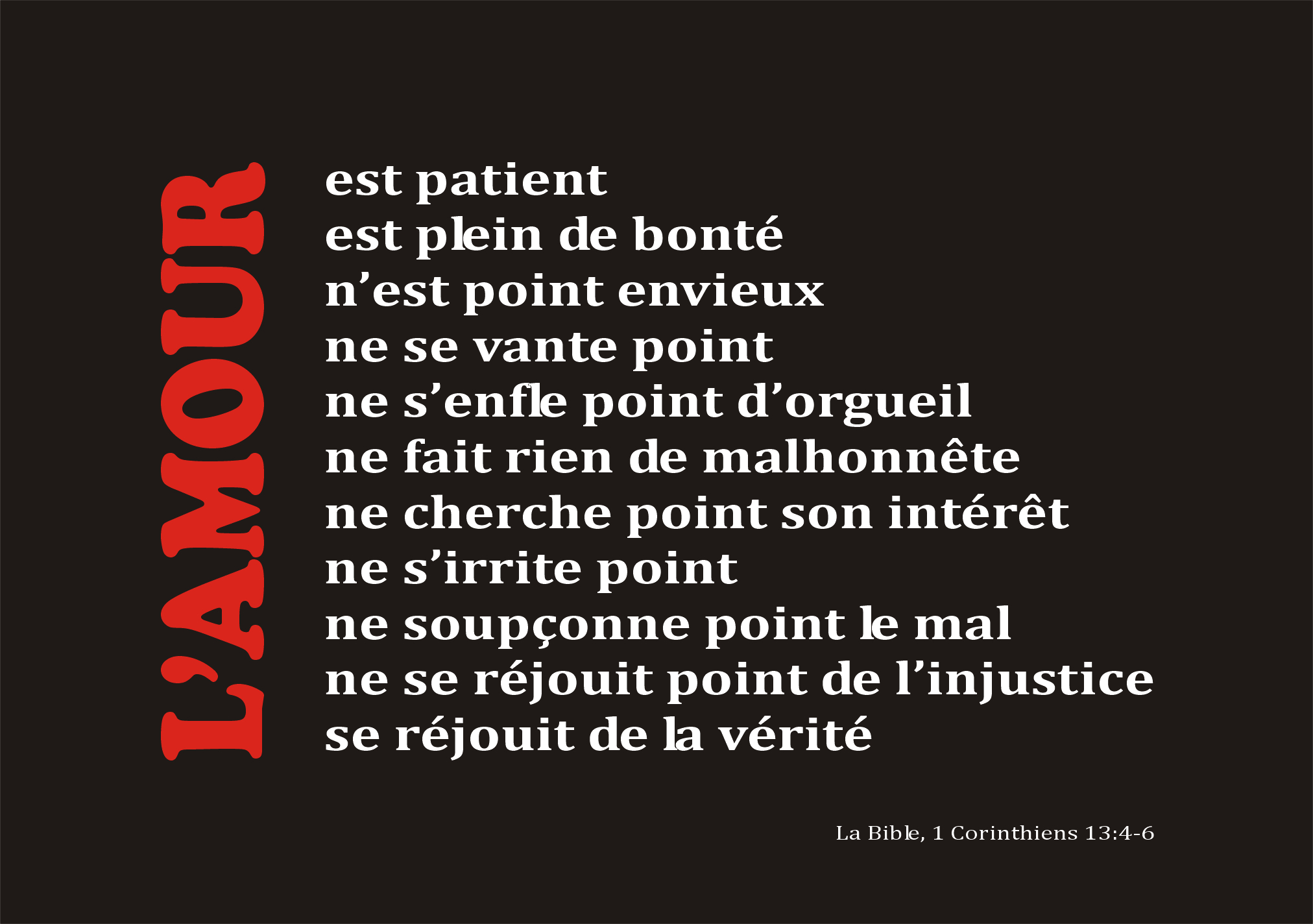 Top L'amour | www.la-Bible.info ES72