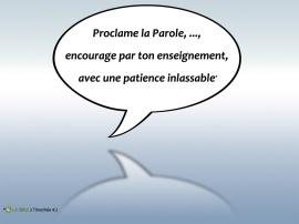 Parole-encourage