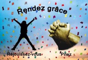 """""""Que Ses rachetés Lui offrent des sacrifices de reconnaissance, que, dans la joie, ils racontent Ses œuvres. La Bible,  Psaume 107: 22"""