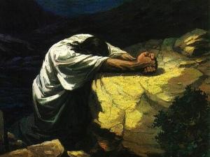 """""""Jésus disait : «  Abba, ô mon Père, tout t'est possible ... »"""" La Bible, Marc 14:36"""