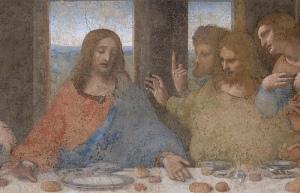 """(Jésus)""""Après avoir rendu grâces, le rompit, et dit: Ceci est mon corps, qui est rompu pour vous; faites ceci en mémoire de moi. De même, après avoir soupé, il prit la coupe, et dit: Cette coupe est la nouvelle alliance en mon sang; faites ceci en mémoire de moi toutes les fois que vous en boirez."""" La Bible, 1 Corinthiens 11: 24-25"""