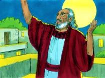 Genèse 6:9-22 Noé était un homme qui faisait ce qui était juste et obéissait à Dieu. Il avait trois fils : Sem, Cham et Japhet.