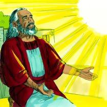 Dieu dit à Noé qu'Il allait mettre un terme à ce mal en envoyant un déluge pour couvrir toute la terre. Mais que Noé et sa famille seraient épargnés.