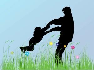 """""""Comme un père aime ses enfants, le SEIGNEUR aime avec tendresse ceux qui le respectent."""" La Bible, Psaume 103:13"""