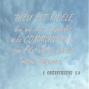1 Corinthiens 1:9