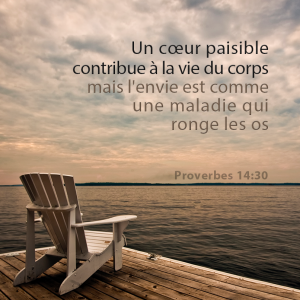 proverbes 14:30