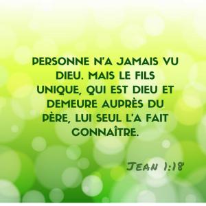 Jean 1:18