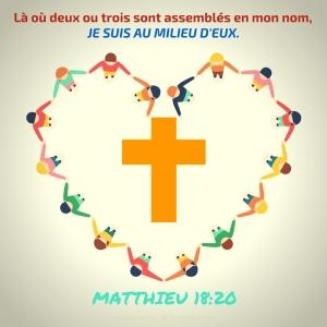 Matthieu 18:20