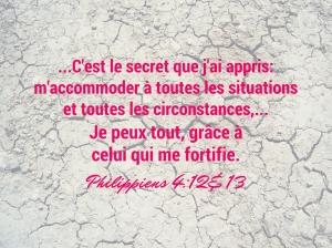 Philippiens 4:12&13