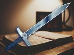 """""""Prenez aussi le casque du salut, et l'épée de l'Esprit, qui est la parole de Dieu"""" La Bible, Ephésiens 6:17"""