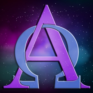 """""""Je suis l'Alpha et l'Oméga, le premier et le dernier, le commencement et la fin."""" La Bible, Apocalypse 22:13"""