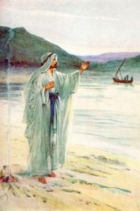"""""""""""La tunique (de Jésus) était sans couture, tissée tout d'une pièce depuis le haut"""". La Bible, Jean 19:3"""