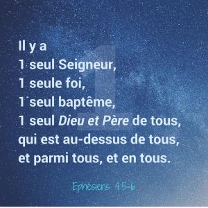 Ephésiens 4:5-6