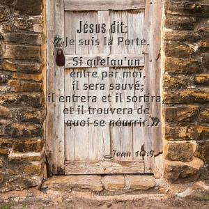 Jésus dit: Je suis la porte